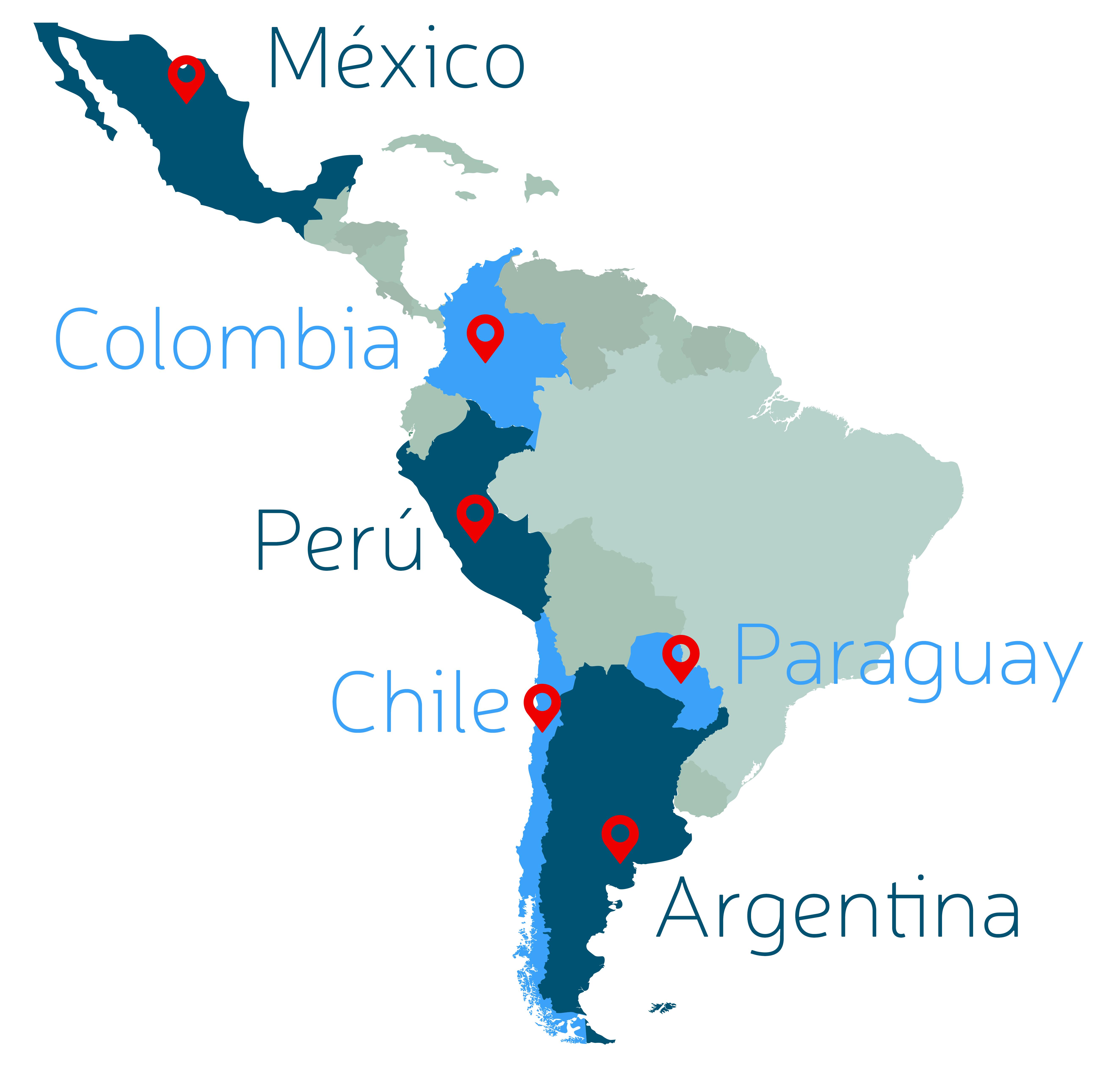 Mapa Latinoamericano